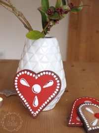 DIY Lebkuchenherzen aus Holz
