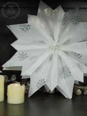 DIY Weihnachtsstern aus Papiertüten