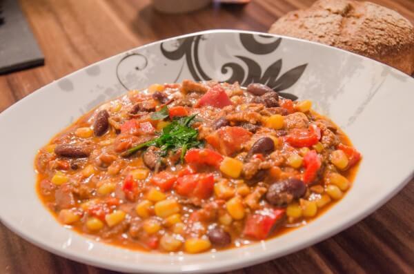 Chili sin Carne - Etwas Heißes für kalte (Winter-)Tage