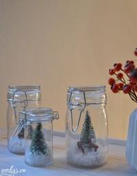 DIY Winterwald im Glas