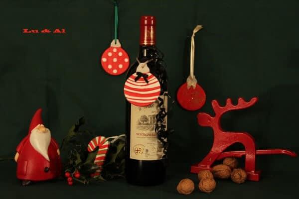Weihnachtliche Geschenkanhänger