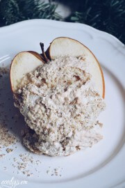Bratäpfel mit Mandeln