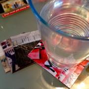 Instagram auf dem Tisch…Fotountersetzer