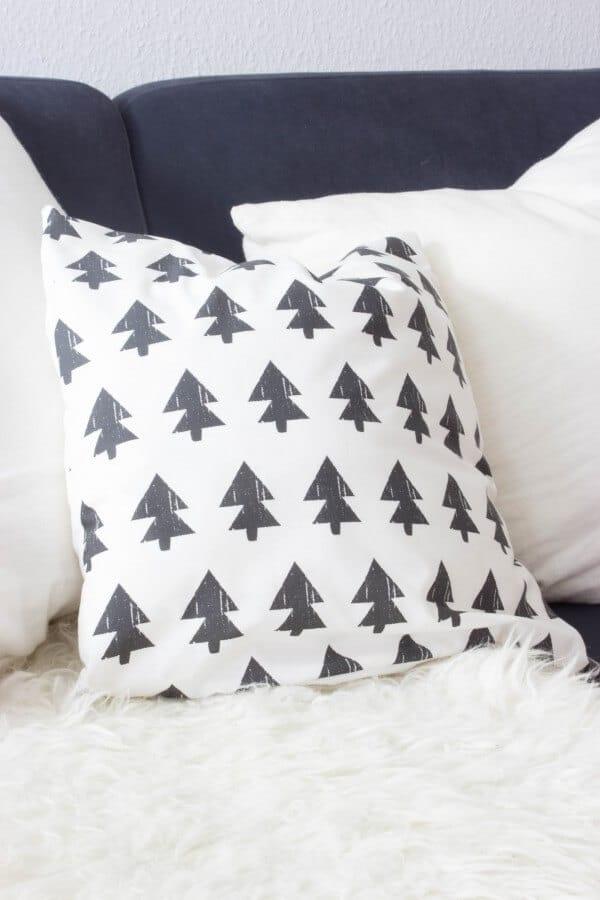 Anleitung für ein weihnachtliches Kissen