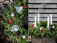 Geschenke und deko f r weihnachten selber machen 2101 - Adventskranz englisch ...