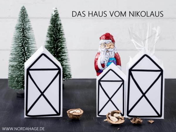 DIY // Das Haus vom Nikolaus (kostenlose Druckvorlage)