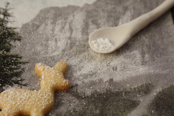 Weihnachtliche Butterkekse
