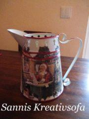 weihnachtliche Vase (Teil 2)
