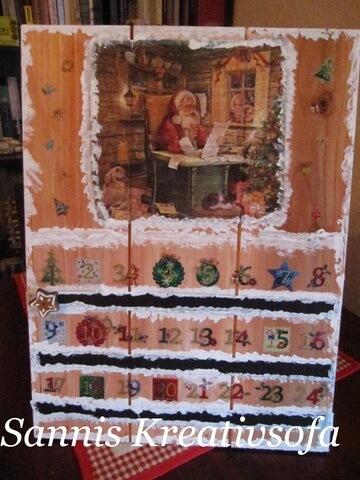 """Daueradventskalender """"Warten auf den Weihnachtsmann"""""""