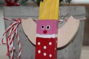 Weihnachtswichtel mit Frisur