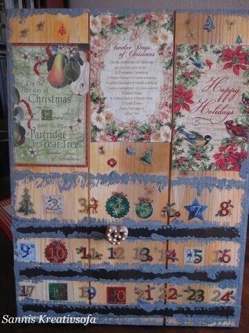Daueradventskalender 12 Days of Christmas
