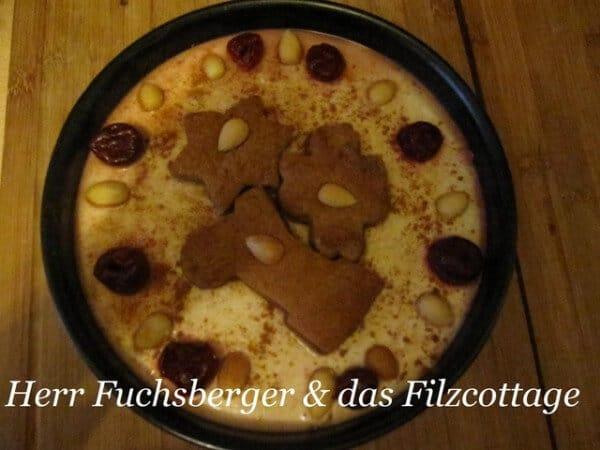 Pfeffernuss- Weihnachtstorte