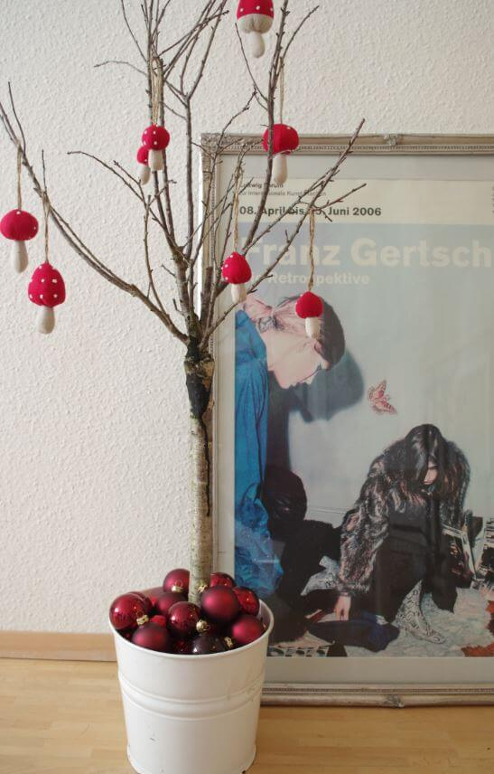 Weihnachtsbaum: Heute wird betoniert!
