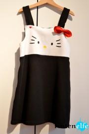 Hello Kitty Kleid nähen