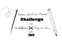 Kreativ durch den Monat Challenge mit Funkelfaden, Herz an Hirn und euch!