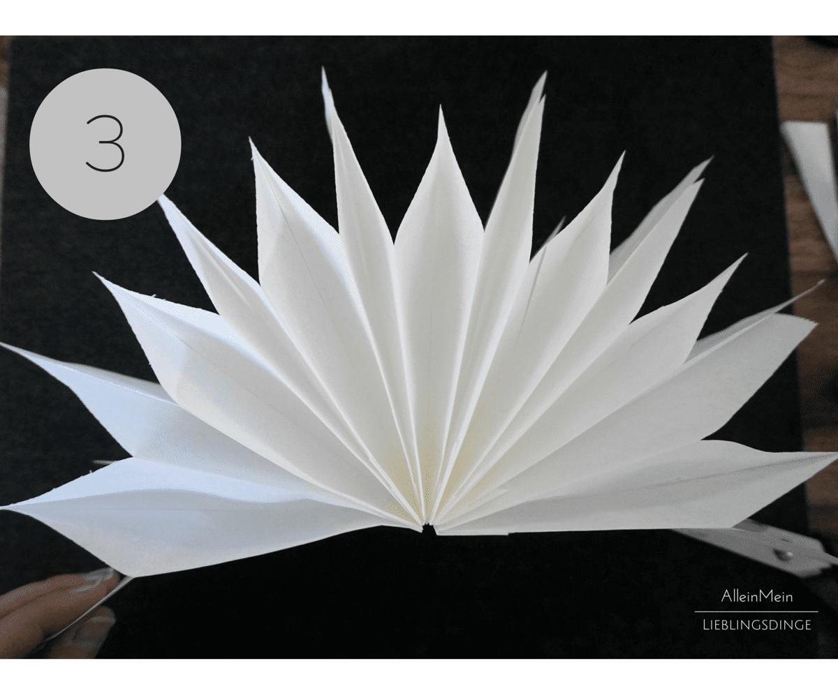 diy papiersterne aus butterbrot papiert tchen basteln handmade kultur. Black Bedroom Furniture Sets. Home Design Ideas