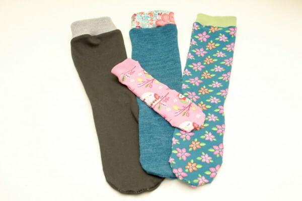 Socken nähen