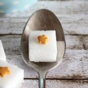 Stern-Zucker für den Adventskaffee