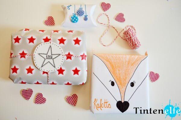 Geschenke verpacken in 3 Varianten