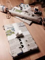 Umweltfreundliche Verpackungsideen (nicht nur) zu Weihnachten