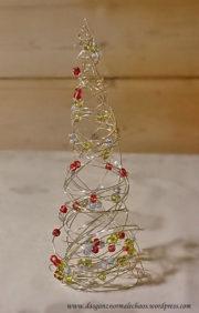 Draht- Weihnachtsbaum