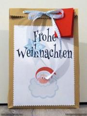 Geschenketüte aus einem Briefumschlag (mit Freebie zum Ausdrucken)