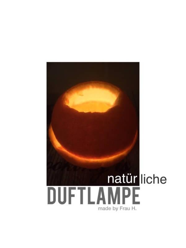 Natürliche Duftlampe