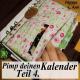 Pimp deinen Kalender Teil 4 - Visitenfächer