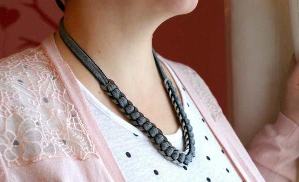 Bezaubernd einfache Kette/Haarband aus Beilagscheiben