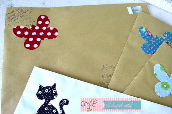 Fröhliche Post verschicken