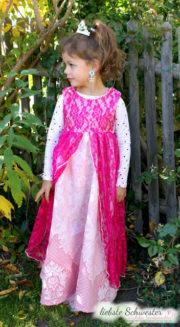 Ein Prinzessinkleid ratz fatz genäht