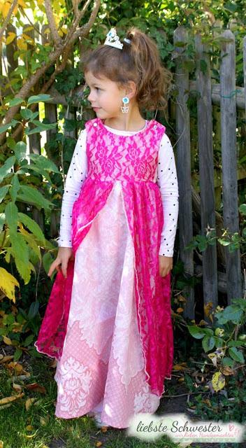 Ein Prinzessinkleid Ratz Fatz Genaht Handmade Kultur