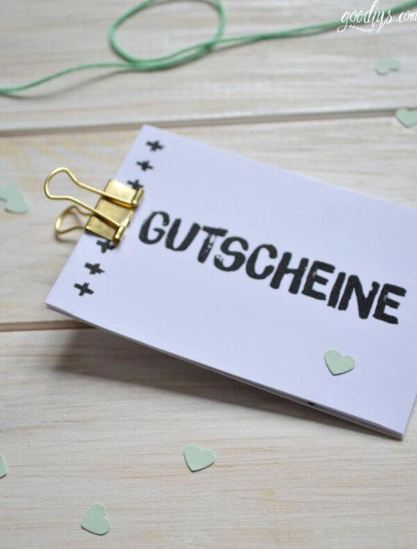 Gutscheinbuch Zum Valentinstag Handmade Kultur