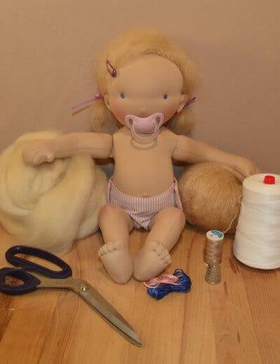 Puppenkurs - Wir nähen eine Stoffpuppe