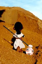 Wie aus einer Stoffpuppe ein Star Wars Charakter wird