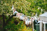 Vintage wedding - Wimpelketten selber machen