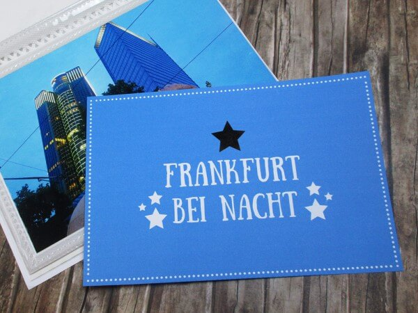 ein fotoalbum selber basteln sightseeing in frankfurt handmade kultur. Black Bedroom Furniture Sets. Home Design Ideas