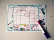 Freebie Bla - Wochenplaner zum ausdrucken und freuen