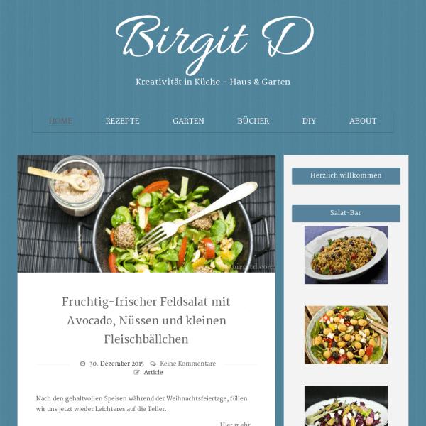 Birgit D | Kreativität in Küche – Haus & Garten
