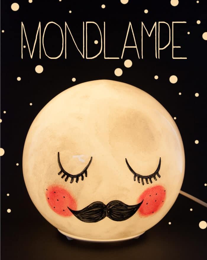 Fado wird zu mr moon handmade kultur - Mondlampe kinderzimmer ...