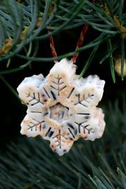 winterliche Vogelfutter Anhänger/ Kreativ durch den Monat Challenge Dezember
