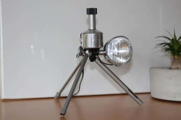 Schreibtischlampe mit Dynamo