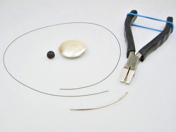 Collier aus Stahlseil selber fertigen