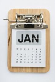 Kalender - Klemmbrett mal anders