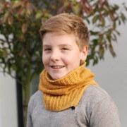 Loopschal Felix - warmer Hals für Schulkinder