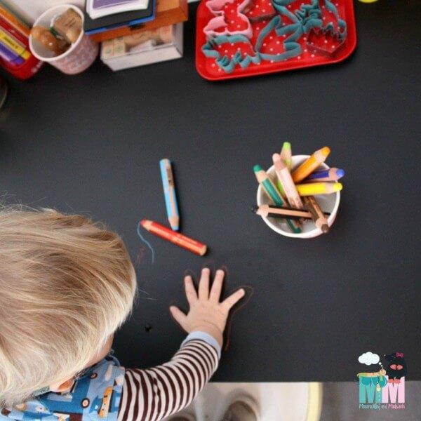 Der perfekte Kindertisch - DIY Tip - upcycling