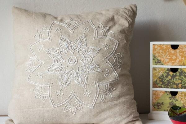 Mandala Kissen Handmade Kultur