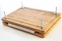 Einfache Buchpresse - Ein schnelles DIY unter 30 Minuten