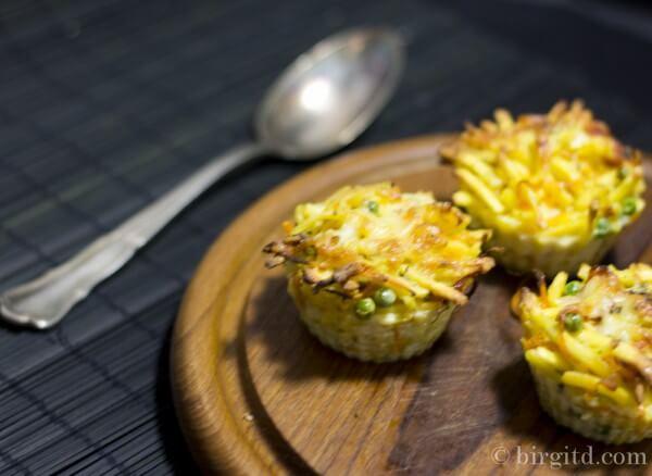 Nudel-Muffins - eine kleine Reste-Zauberei