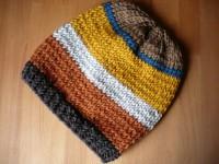 Aus Wollresten eine Mütze stricken